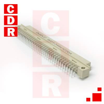 EUROCONECTOR DIN41612 (A+C) HEMBRA 2X32 90º