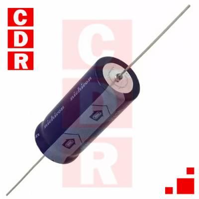 ALUMINIUM CAPACITORS AXIAL CAN 47UF 400V 2000HRS 85ºC (TVX2G470MCD) NICHICON