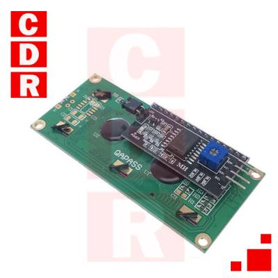 ADAPTER FOR LCD TEXT 16X2 / 20X4 I2C 2 PIN COMMUNICATION