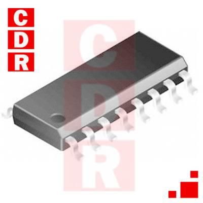 74HC157 SMD CMOS QUAD 2 CHANNEL MULTIPLEXER M1R SOP-16