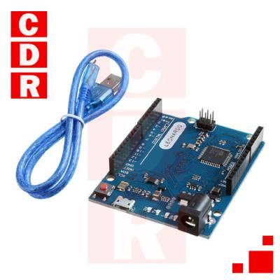 ARDUINO LEONARDO R3 CON CABLE USB ORIGINAL ATMEGA32U4