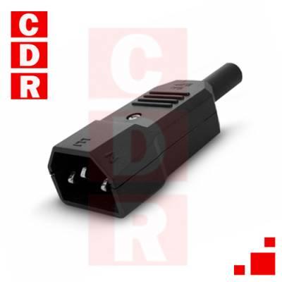 CONECTOR MACHO TIPO PC/CABLE