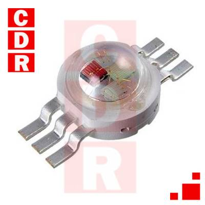 MOD-05RGB LED 10MM WATER-CLEAR - WHITE COLD - 825.000 MCD - 30 °-0.5W