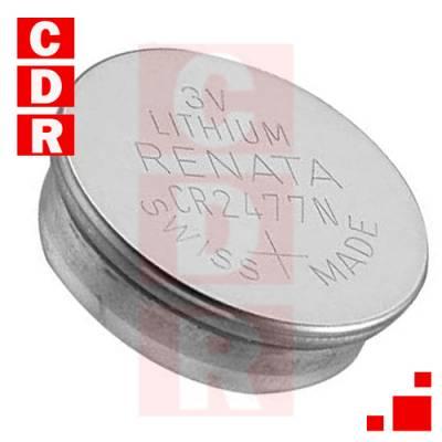 CR2477N PILA DE LITHIUM 3V RENATA
