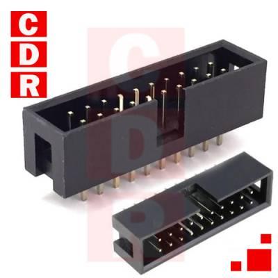 IDC20 CONECTOR MACHO P/CI RECTO