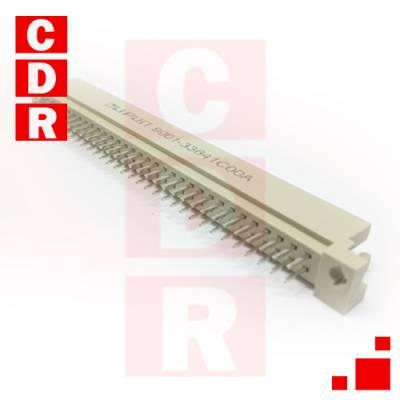 EUROCONECTOR DIN41612 (A+C) MACHO 2X32 RECTO