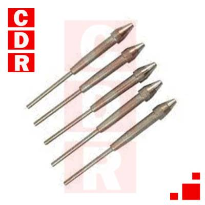 1121-0626-P5 DESOLDERING TIP SX70 / SX80 CONICAL 1.52MM (PACK 5 UNITS) PACE