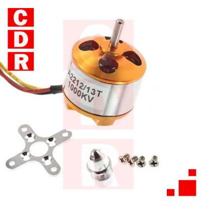 4 BRUSHLESS MOTOR KIT-2212 1000KV + 4 ESC 30A + 4 HELICES 1045