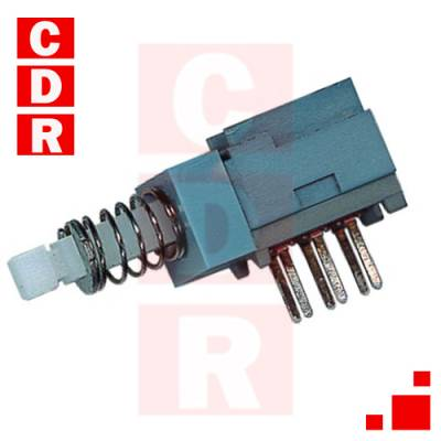 LLAVE PUSH SWITCH 2 INV 0,3A 30V ON-ON C/RETENCIÓN (MINI)