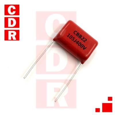 105J 400V 1UF (+-5%) 400VDC 250VAC MKP C.4G