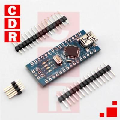 ARDUINO NANO 3.0 (ATMEGA328) COMPATIBLE - 5V - 8 BIT - 16 MHz.