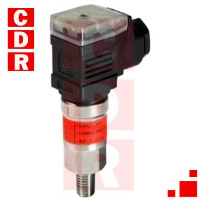 MBS3100 060 G1464 PRESSURE TRANSMITER DANFOSS0 TO 6 BAR 4-20MA SUPPLY PIN 1 COMMON PIN 2