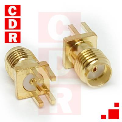 SMA FEMALE FOR PCB CONNECTOR