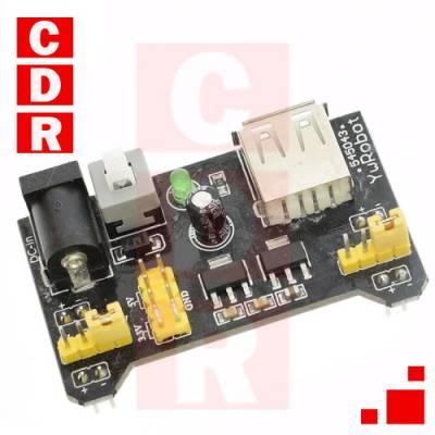 DC REGULATOR MODULE 5V 3.3V FOR MB102 BREADBOARD
