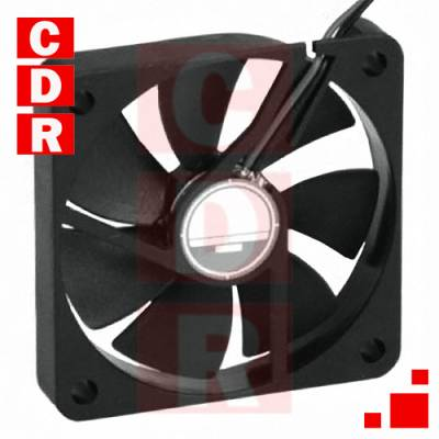 OD6010-12HSS FAN AXIAL 60X10MM 12VDC WIRE