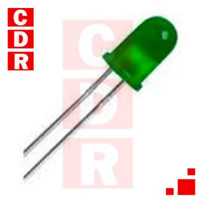 LED 5MM VERDE DIFUSO
