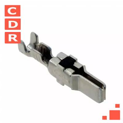66261-1 PIN CONTACT TIN-LEAD CRIMP 12-16 AWG POWER, STAMPED AMP