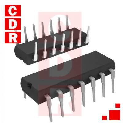 74HC00N QUADRUPLE 2-INPUT POSITIVE-NAND GATE DIP-14 CASE MARCA NXP