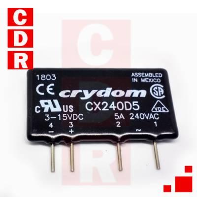 CX240D5 RELE ESTADO SOLIDO SIP-4 CASE MARCA CRYDOM