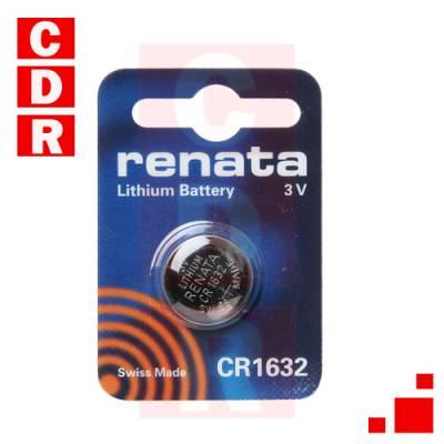 BATERIA DE LITIO 3V CR1632 MARCA RENATA