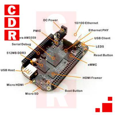 BB BLACK AM3358 ARM CORTEX - A8 REV.C
