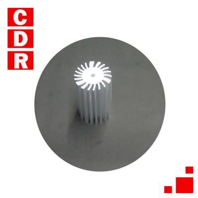 DISIPADOR CIRCULAR DIAMETRO EXTERIOR 46MM - DIAMETRO INTERIOR 27MM - LARGO 4,50 CM