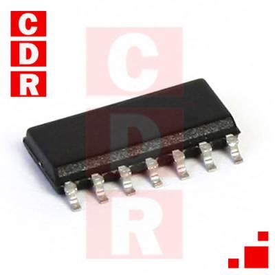 74HC02D IC CMOS SMD SOIC14
