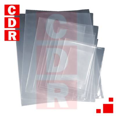 ESD BOLSA PROTECTORA ANTIESTATICA CLARO C/ CIERRE ZIP RESELLABLE  22X25CM