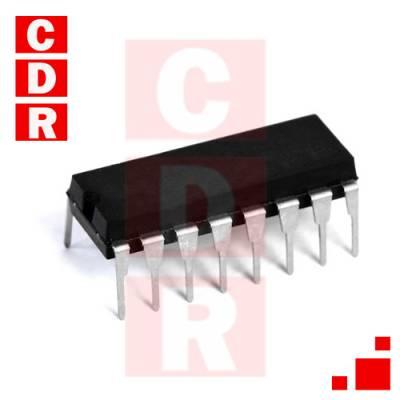 SN74LS47N BCD-TO-SEVEN-SEGMENT DECODER/DRIVER DIP-16 CASE