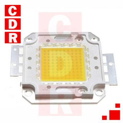 LED COB FULL SPECTRUM CHIP 48W CULTIVO INDOOR , WHITE OR WARM COLOR 30V-35V
