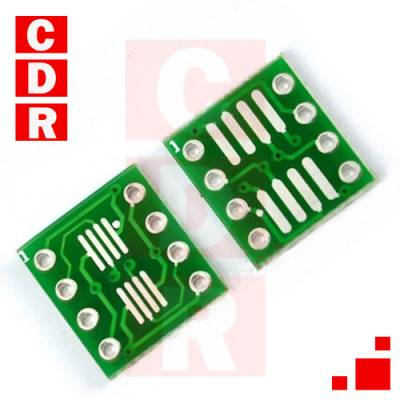 ADAPTER SO8 SOIC8 SOP8 TSSOP8 VSSOP8 TO DIP8 SMD OEM
