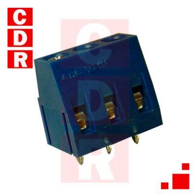 BORNERA APILABLE 3 POLOS 10A 300VAC APIL. MORDAZA (DG300-5.0-03P-12-00AH)