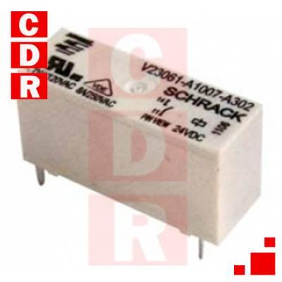 RELEVADOR SIMPLE INVERSOR 8A 24VAC V23061-A1007-A302 SCHRACK