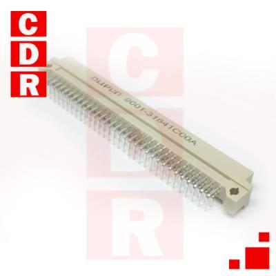 EUROCONECTOR DIN41612 (A+C) MACHO 2X32 90º