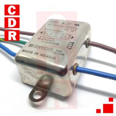 FILTRO DE LINEA 5A CHASIS 46X20X34MM METALICO 5EB3 CORCOM