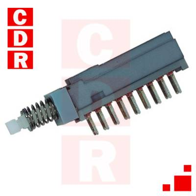 LLAVE PUSH SWITCH 6 INV 0,3A 30V ON-ON C/RETENCION (MINI)