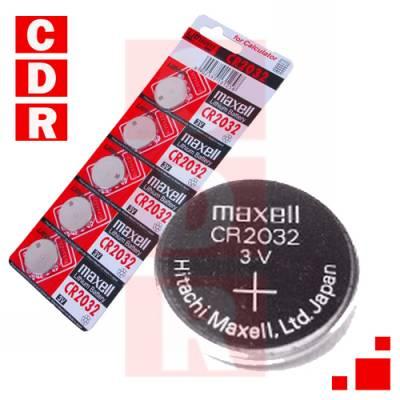 CR2032 PILA DE LITHIUM 3V MAXELL