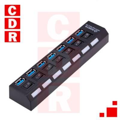 HUB USB 7 PORT USB-3.0