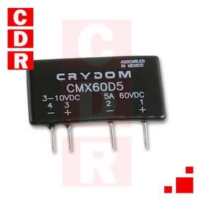 RELE DE ESTADO SÓLIDO (3-10VDC) 5A 60VDC CMX60D5 CRYDOM