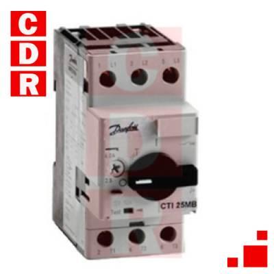 CTI25M 047B3147 CIRCUIT BREAKER 2X5-4.0 AMPS DANFOSS