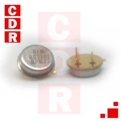 RO2101 RESONADOR 433.92MHZ SAW 1-PORT TO39-3 CASE