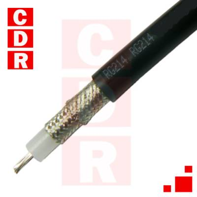 RG-214 COAXIAL CABLE X 100 MTS