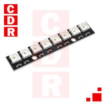 BARRA 8 LEDS RGB 5050 WS2812 NEOPIXEL ARDUINO