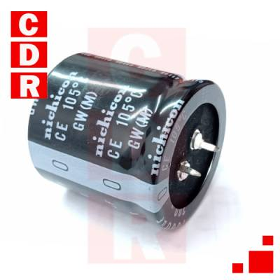 CAP. ELECTR. RADIAL 1500UF 200V 105° 35X35MM SNAP IN NICHICON