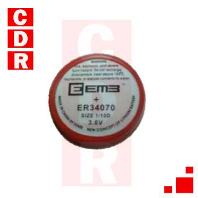BATERIA DE LITIO 3,6V ER34070 EEMB