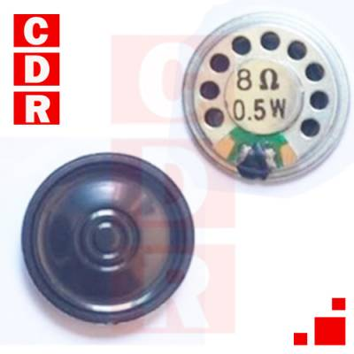 SPEAKER 8 OHMS .5W 35MM DIAMETER WITH CARDBOARD CONE (OEM)