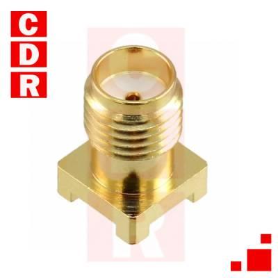 CONSMA001-SMD-G CONN SMA RCPT STR 50 OHM SMD CONN SMA RCPT STR 50 OHM SMD OEM