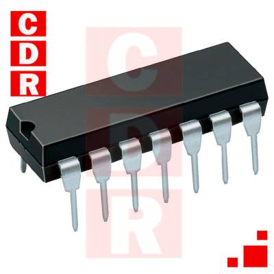 LM324N LOW POWER QUAD OPERATIONAL AMPLIFIER DIP-14 CASE