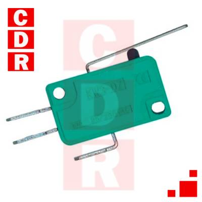 LLAVE MICROSWITCH 16A 250V P/CABLE LEVA CORTA (27MM)