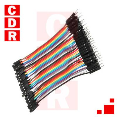 1 OF 10 PIN FEMALE DUPON PLAST TO ASSEMBLE CABLE PROTOBOARD KIT 20 U.